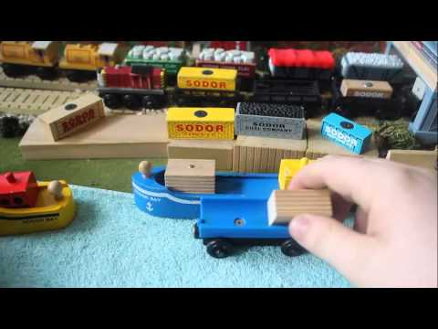 DYR: 1994 Sodor Bay Cargo Ship (Dock Yard Review)