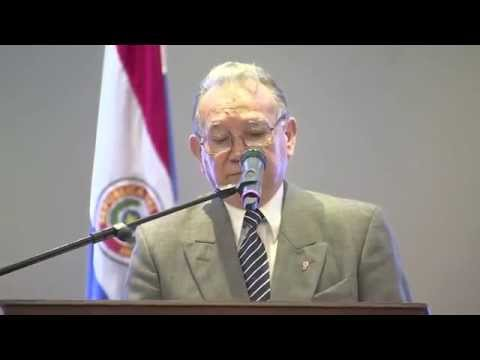 José Altamirano at Symposium on Paraguay and South Korea Relations (In Spanish)