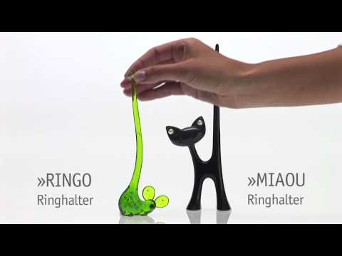 Koziol Miaou Cat Ring Holder
