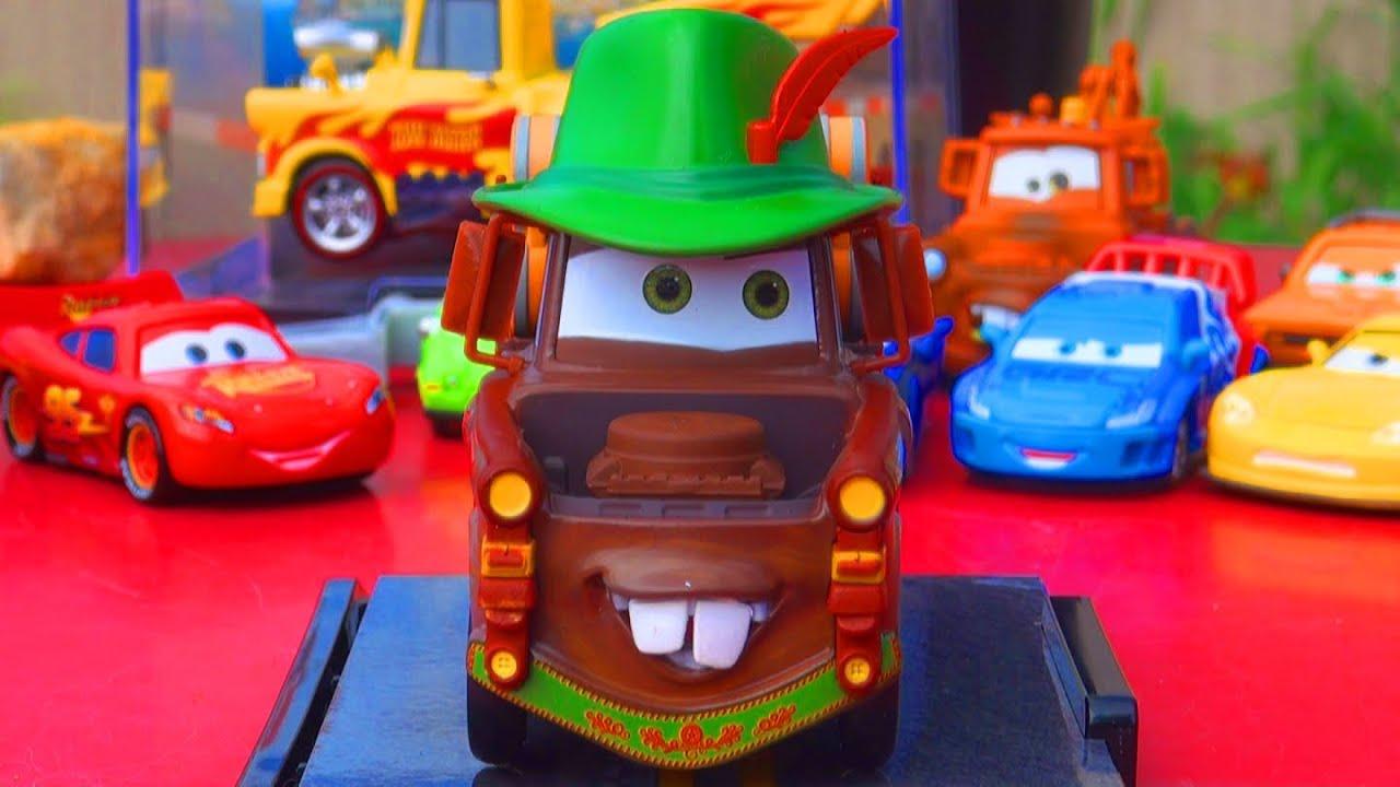 Disney Cars Toys Youtube: Cars 2 Materhosen 1-43 Scale Diecast Disney Store