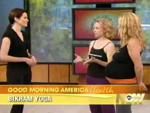 Bikram Yoga NYC On ABC News