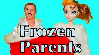 Frozen Parents Elsa & Anna's Mom & Dad AllToyCollector