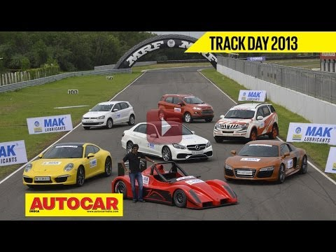 Autocar Track Day 2013 With Narain Karthikeyan | Autocar India