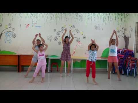 NTNTP- Shakira - Múa HĐ thiếu nhi - Ca 2- Nhóm 1-2
