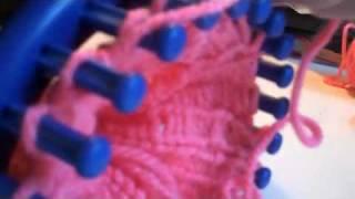 Calentadores En Telar RedondoParte 2(loom Knitted Leggins