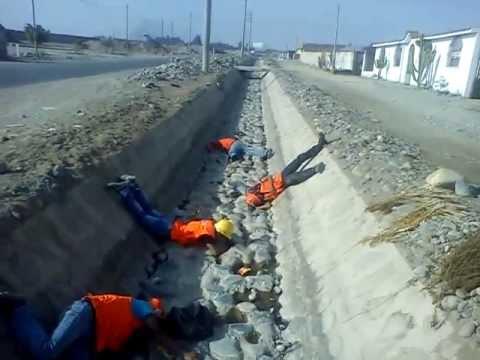 Accidente en Operacion de Maquinaria pesada