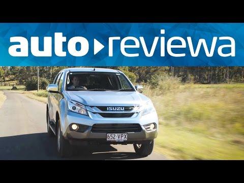 2015, 2016 Isuzu MU-X Video Review - Australia