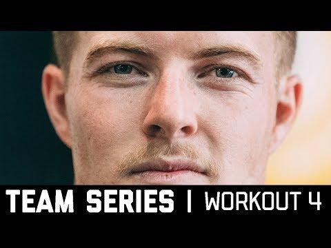 2018 CrossFit Team Series Ohlsen + Mayer | Workout 4