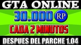 GTA V| GTA ONLINE| TRUCO 30.000 RP CADA 2 MINUTOS