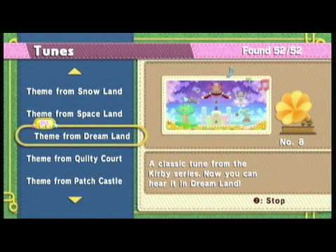 Kirby Epic Yarn - Theme from Dream Land