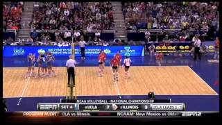UCLA's Rachael Kidder in the 2011 NCAA Championship view on youtube.com tube online.