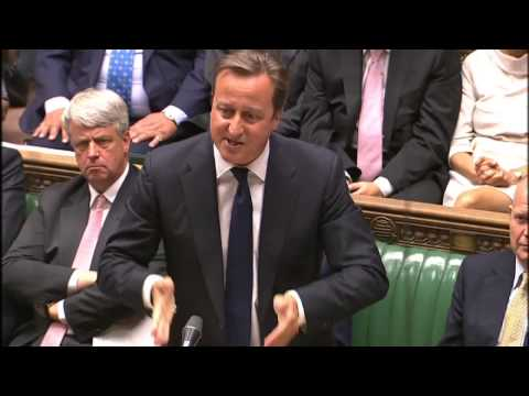 David Cameron and Ed Miliband debate Syria intervention