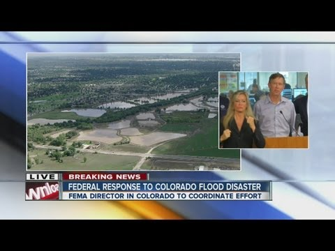 Federal response to flooding disaster