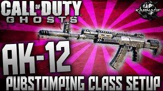 "Call Of Duty: Ghosts ""AK-12"" BEST CLASS SETUP K.E.M"