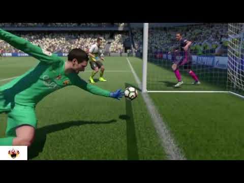 BEST FIFA17 goals glitches saves