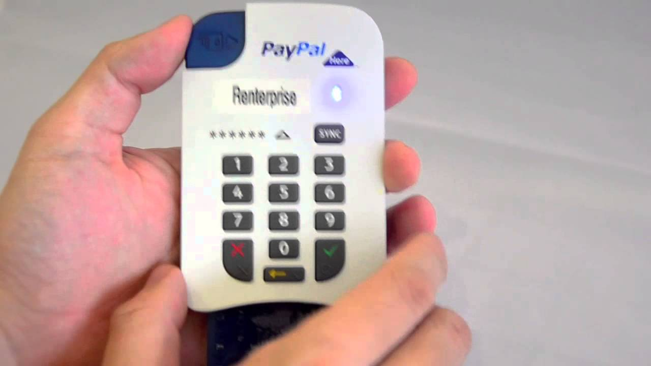 paypal here chip and pin card reader review youtube. Black Bedroom Furniture Sets. Home Design Ideas