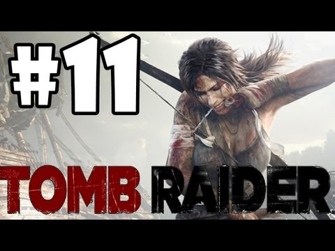 "Tomb Raider 2013 Walkthrough: Part 11 ""Caves and Fortresses"" (XBOX 360/PS3/PC/GAMEPLAY)"