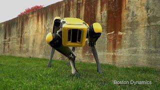 Boston Dynamics presenta su nuevo perro-robot