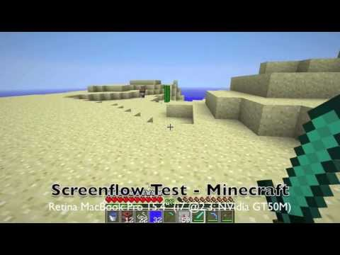 Screenflow Minecraft Test  - MacBook Pro Retina [HD]