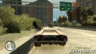 GTA 4 Caidas, Accidentes y Bugs 3 view on youtube.com tube online.