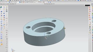 Tutorial revolve and make hole on NX 7.5