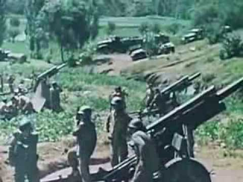 Story of Korean War in Colour