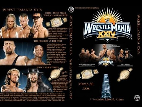 WWE Wrestlemania XXIV (24) Review :: The Biggest WM Under The Sun :: Ric Flair's Retirement Match!