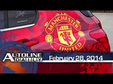 Chevy to Keep Manchester United Sponsorship - Autoline Daily 1324