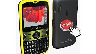 Hard Reset (Borrado De Fabrica), Formatear, Alcatel OT