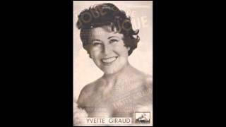 Yvette Giraud - Joue contre joue - Tango de 1946