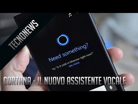 Cortana - L'assistente vocale di Microsoft