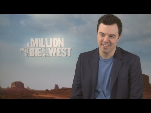 Seth MacFarlane talks A Million Ways To Die In The West and Ted 2