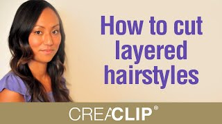 Cutting Layers At Home How To Cut Layered Hairstyles