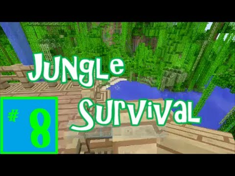 Minecraft Xbox: Jungle Survival ep8