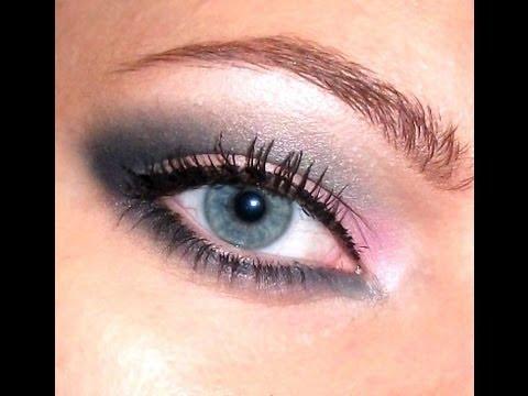 Ошеломляющий  макияж для голубых глаз