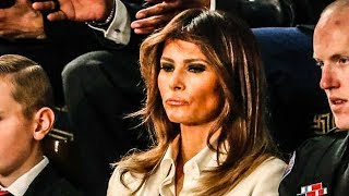 Melania Trump CLEARLY Despises Donald And Showed It At State Of The Union Address