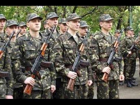 Военный призыв в украине во время