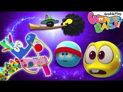 Squishy Balls Magical Pet Dragon | Wonderballs Cartoon | Funny Animated Cartoons for Kids