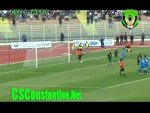 CSC 1 - WAT 1 : Résumé du match (ENTV)