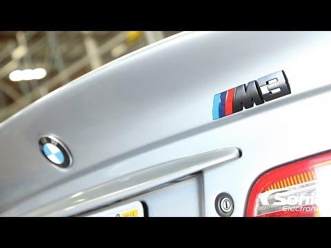 E46 BMW M3 Component Speaker System Installation