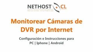 Ver Cámaras DVR A Través De Internet Para PC, IPhone Y