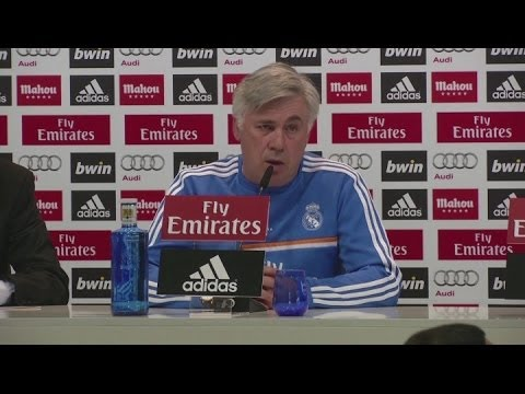 Madrid 'focused' on Elche test -  Ancelotti [AMBIENT]