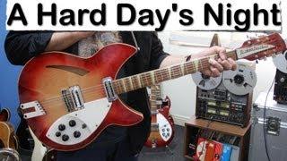 A Hard Day's Night The Beatles Rickenbacker 360 12 Strings