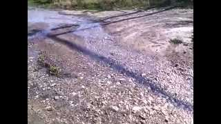 Curge apă potabilă pe strada Păcii de la Bălți