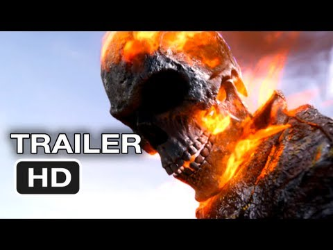 Ghost Rider: Spirit of Vengeance Official Trailer #2 - Nicolas Cage Movie (2012) HD