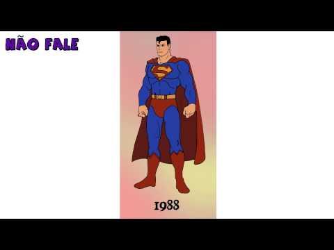 A evolução de Super Man nos quadrinhos