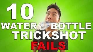 Water Bottle Trickshot FAILS (BTS)