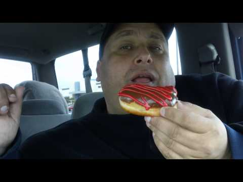 Krispy Kreme Hugs & Kisses Doughnut REVIEW!