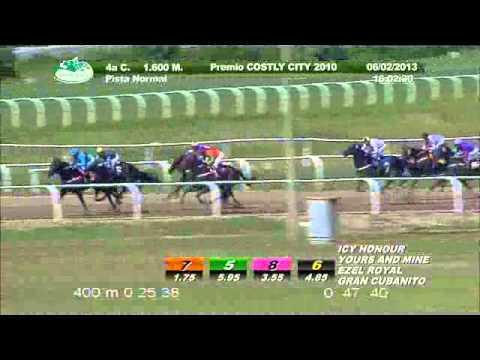 Vidéo de la course PMU PREMIO COSTLY CITY