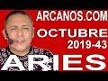 Video Horóscopo Semanal ARIES  del 20 al 26 Octubre 2019 (Semana 2019-43) (Lectura del Tarot)